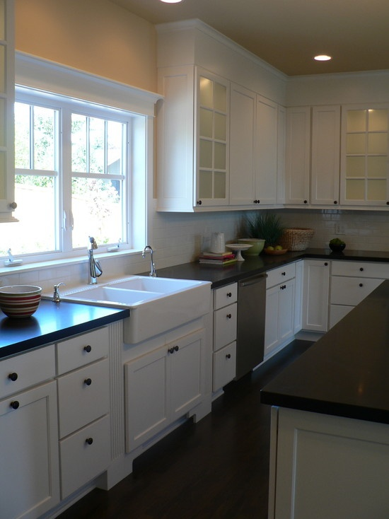 Wonderful Cape Cod Kitchen Ideas Part - 12: Cape Cod Kitchen Design, Pictures, Remodel, Decor And Ideas Remove The  Existing Scalloped Wood Work Above Sink To Open Area Up.
