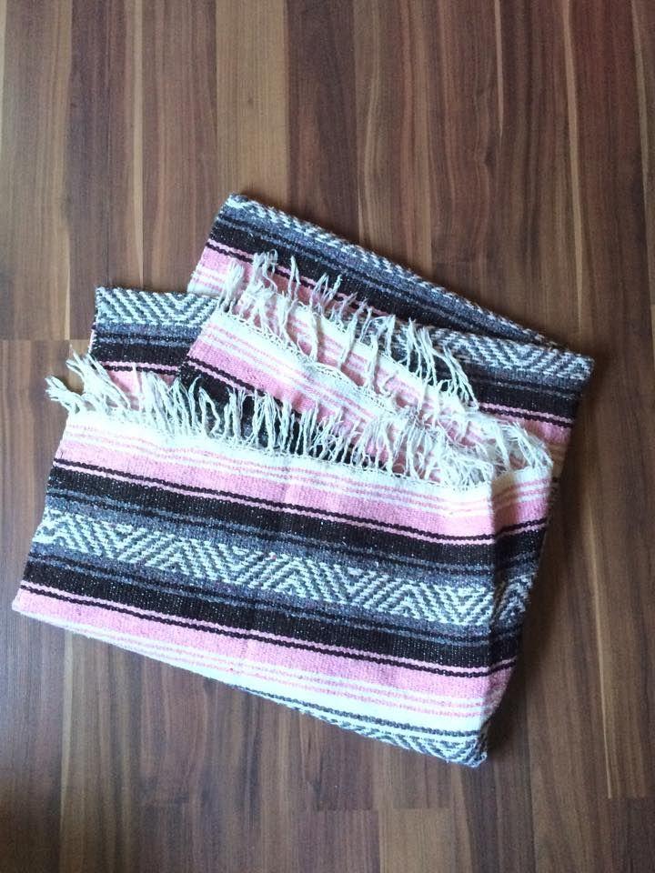 Mexican Blanket, great prop. :)