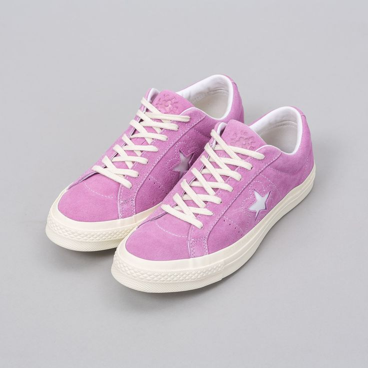 Converse x Golf le Fleur One Star Ox in Fuchsia Glow