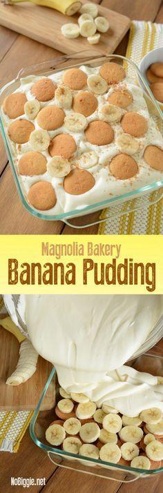 Magnolia Bakery Banana Pudding | http://NoBiggie.net