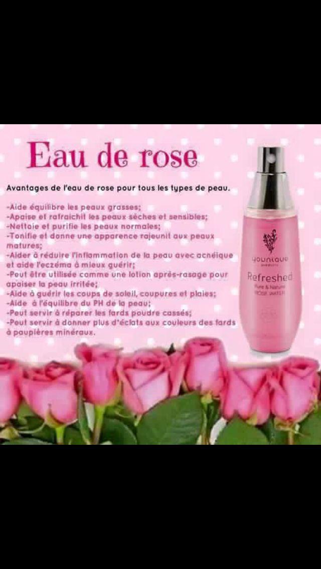 Eau De Rose Younique Lotion Visage Tr 232 S Efficace Beaut 233