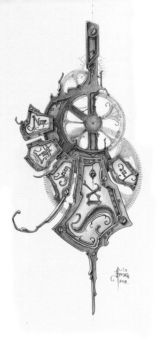 Clockwork Tattoo Clockwork Tattoo Clock Tattoo Design Free Tattoo