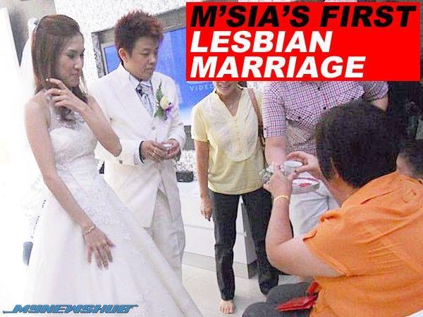 Pasangan lesbian dari Pahang ini nekad langsungkan perkahwinan di Kemboja   TEKAD mahu berkahwin dengan pasangan sejenis seorang wanita bercadang mengahwini kekasihnya di Kemboja tahun depan.  Menyedari undang-undang di negara ini yang tidak membenarkan perkahwinan sejenis Xiao Wei 30 dan pasangannya Shu Ying 29 sanggup ke Kemboja kerana dikatakan boleh menerima perkahwinan mereka di sana.  Pasangan lesbian dari Pahang ini nekad langsungkan perkahwinan di Kemboja  Sinchew Daily melaporkan…