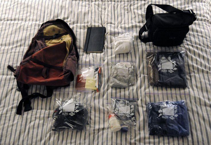 Sac à dos de voyage et petits sacs de rangement - Comment faire sa valise: le guide pratique complet