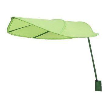 Ikea Lova Kid Bed Canopy, Green Leaf