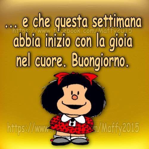 Buongiorno, Mafalda