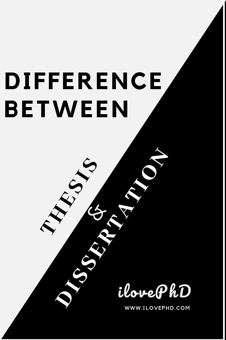Difference Between Thesi And Dissertation Statement All But Meaning