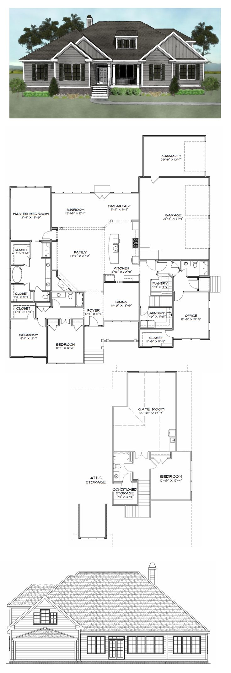 1000 images about house plans over 2800 sq ft on for 2800 square foot house plans