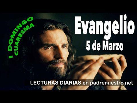 Primer Domingo de Cuaresma, reflexión del evangelio del día 5 de marzo - YouTube