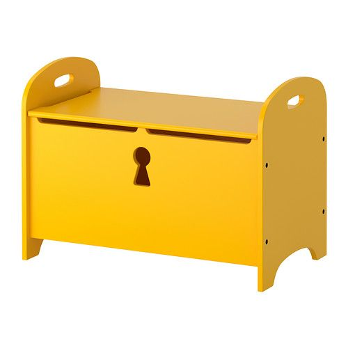 TROGEN Storage bench IKEA The bench has a dual function: seating on top and practical storage under the lid.
