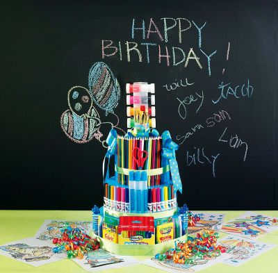 Art Supplies Gift CakeGift Cake, Art Crafts, Teachers Gift, Birthday Gift, Gift Ideas, Parties Ideas, Art Supplies, Birthday Cake, Art Cake