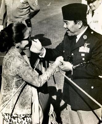 Ir. Soekarno & Wife's
