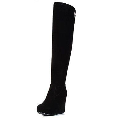 zapatos+de+cuña+de+la+plataforma+del+talón+hasta+la+rodilla+botas+altas+de+las+mujeres+más+colores+disponibles+–+MXN+$+841.31
