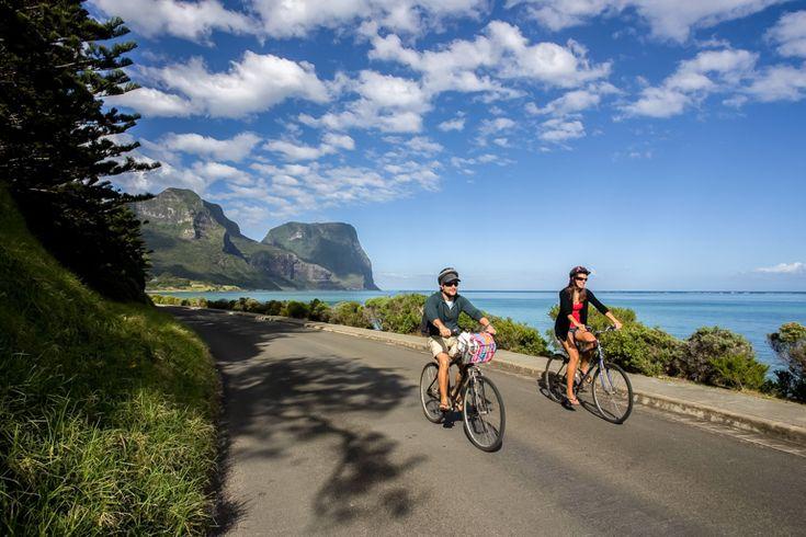 Winter bike ride | Lord Howe Island