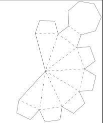 caixinha diamante de papel - Pesquisa Google