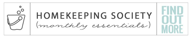 Find Out More Homekeeping Society