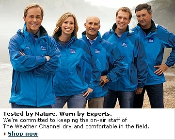 The Weather Channel......I am an addict.  Mike Seidel is my favorite.
