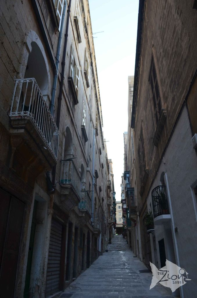 Lost in Valletta