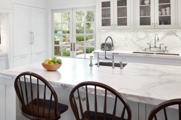 What the experts would never have in their homes - marble bench tops, polished concrete, wood floors in kitchens