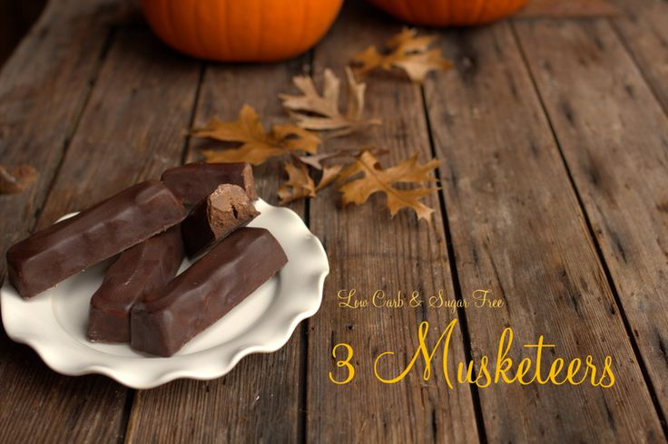 3 Musketeers, sugar free 3 Musketeers, low carb 3 Musketeers, ketogenic 3 Musketeers