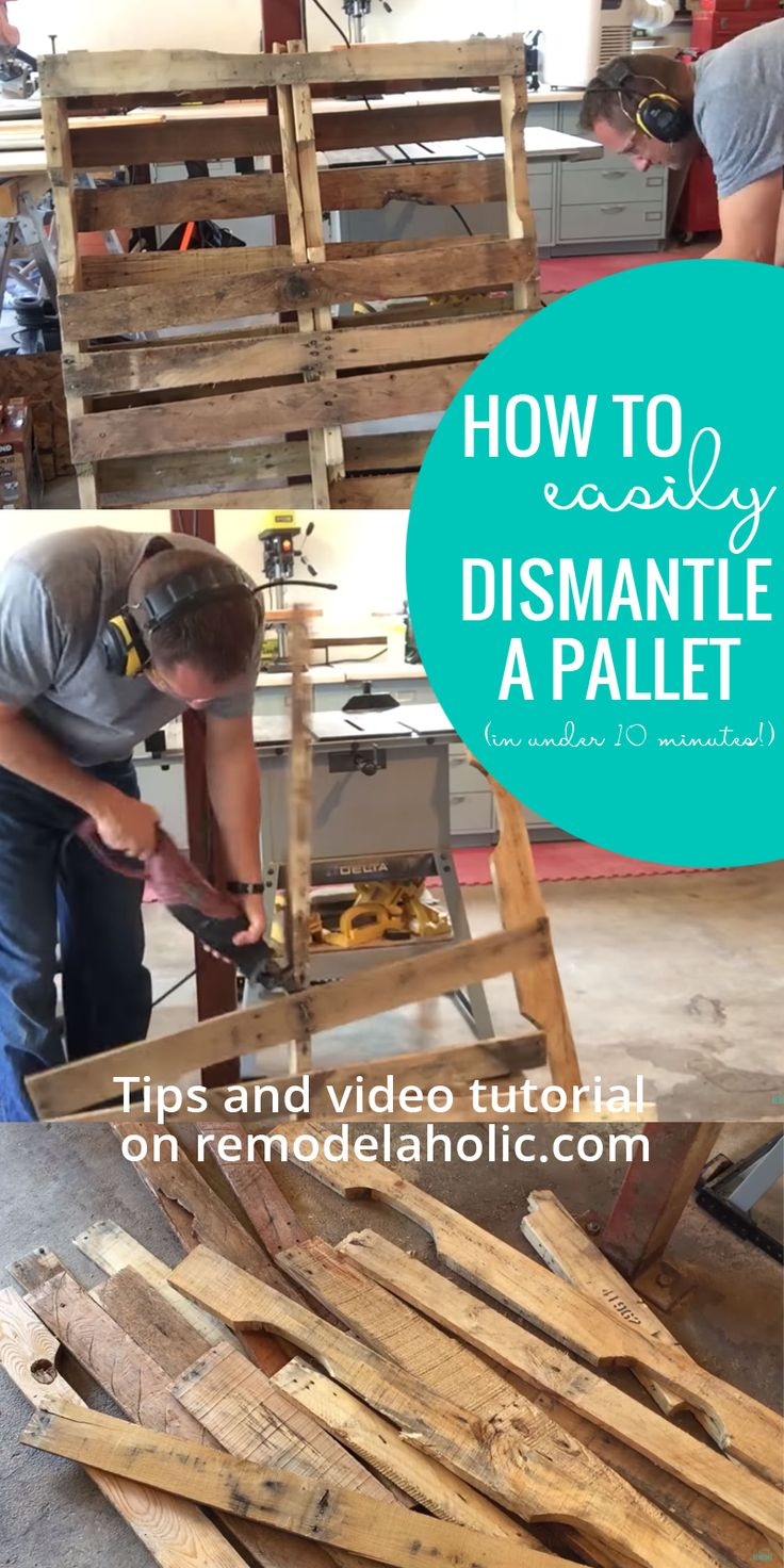 Working with pallets 5 essential woodworking power tools that won - Pallets 101 Where To Find Pallets How To Choose A Good Pallet And How To Take Apart A Pallet Without Losing Your Mind