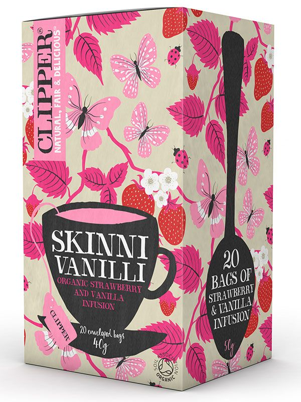 Skinni Vanilli Tea 20 Bags (Clipper) - HealthySupplies.co.uk. Buy Online.