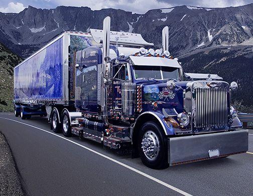 Perron Auto Ford >> 1079 best images about Transporte on Pinterest | Peterbilt ...