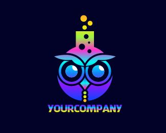 LOGO OWL LAB Logo design - Attention:<br />For customize its free so feel free too contact me back if REVISION NEEDED until you are satisfied.<br />Final files will include :<br />- (Ai) both (CMYK,RGB)<br />- (EPS) both (CMYK,RGB) Price $125.00