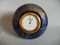 New Listing Started Details about Dartington Crystal Art Glass Clock £35.00