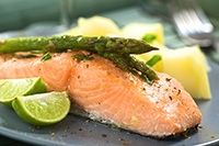 Receta de Salmon al Horno con Patatas