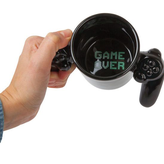 game over ceramic mug - BIGMOUTH INC - contact Voodle for NZ retailers www.voodle.co.nz