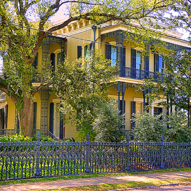 300 Best New Orleans Garden District Images On Pinterest House Beautiful New Orleans And