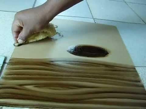 Caixa Masculina com Efeito Madeira - Passo a Passo 1/2 - YouTube