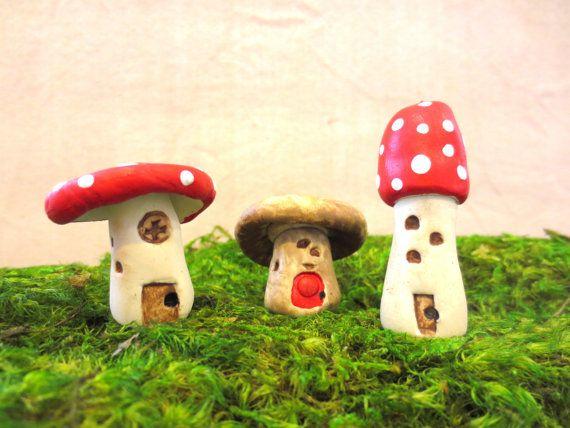 Secret Faerie Hideaway...Fairy House Miniature by FaerieNest, $12.00