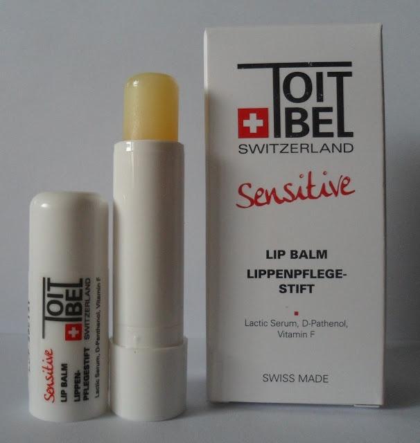 Toitbel Switzerland Hair care Color care styling mousse, Sensitive Lip balm review/ Тоитбел Швейцария Мусс для укладки волос, бальзам для губ обзор