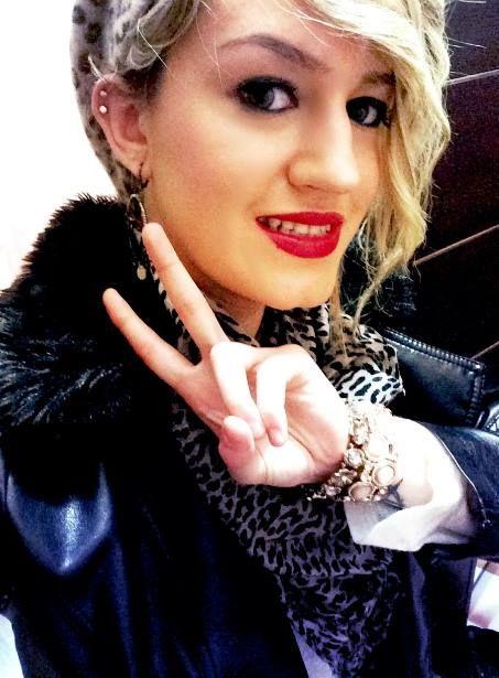 #Turkey #Girl #Tattoo #Red #Lipstick #Model