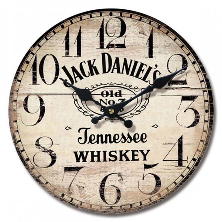 other bar jack daniel s metal wall clock collectible bar on wall clocks id=36209