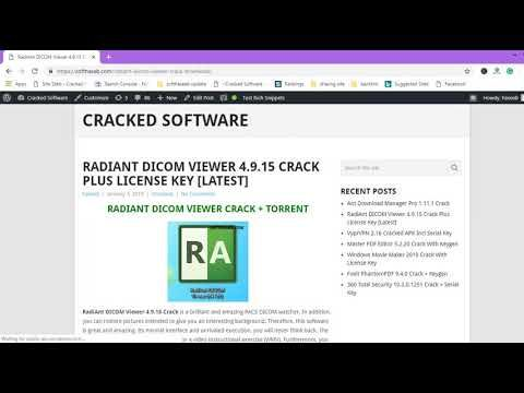 RadiAnt DICOM Viewer 4 9 15 Crack + License Key Download