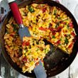 Baked vegetable frittata