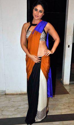 Kareena Kapoor in Soup by Sougat Paul Winter/Festive 2013