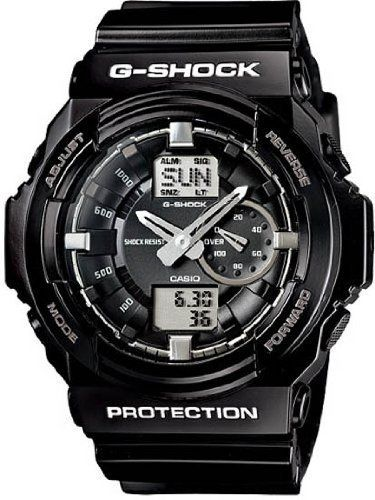 Best Watches 7: Casio G-shock Ga-150bw-1 Big Combination Military Watch - Shinny Black and White Limited Edition Ga150bw-1adr ~ Gadget Watch 101 http://gadgetwatch101.blogspot.com/2013/02/best-watches-7-casio-g-shock-ga-150bw-1_9.html