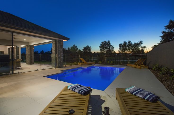 Experience Hamptons @ Sanctuary Cove...one of the exclusive holiday homes from Gallery Luxe. Pool and undercover entertaining area. http://www.galleryluxe.com.au/hamptons-luxury-holiday-homes-sanctuary-cove/ #luxuryescapes #holidayhomes #getaway #goldcoast #australia #sanctuary cove