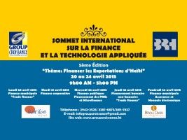 Haiti - Economy : 5th Summit on finance and technology