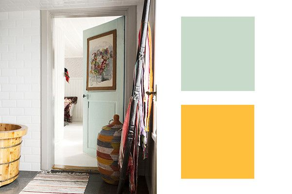 Creme de Cassis Macaron + Indigo Ink - Perfect Designer-Approved Color Combinations- Lonny