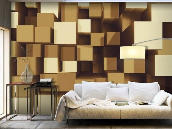 2020 Modern 3D wallpaper in the interior – features, types and new techniques in…