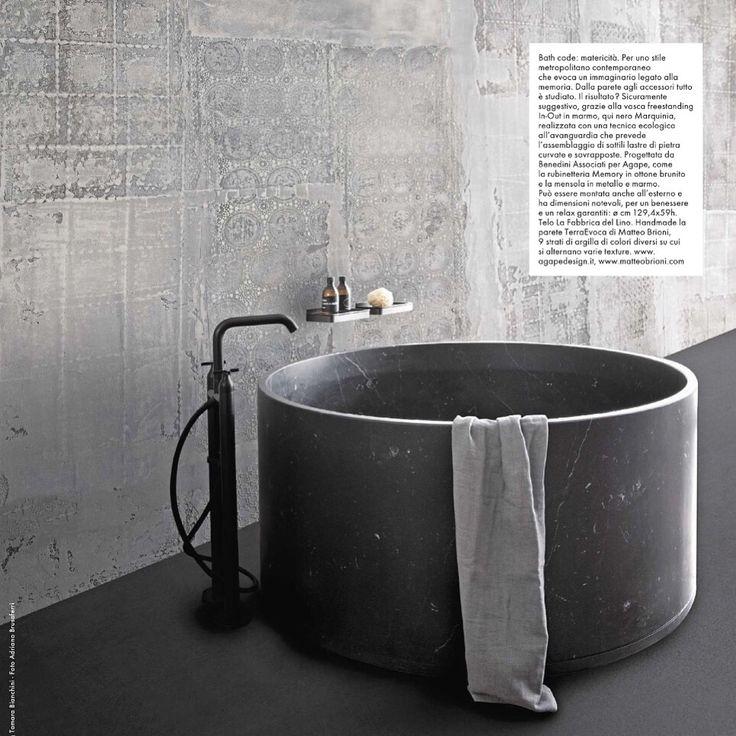 Pure wellness heaven. @agapebathrooms meets @matteobrioni #bath #inout…