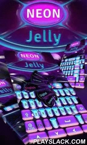 Neon Jelly GO Keyboard Theme  Android App - playslack.com ,  An awesome way to turn a plain keyboard into a beautiful and unique one. It is totally free and only for GO Keyboard(with 10000+ colorful themes and 800+ emoji, emoticons and smiley faces)! No need to set up the keyboard background wallpaper.Download and Enjoy it!Get this FREE theme to make your KEYBOARD more LOVELY and COLORFUL.★Notice:- This theme uses GO Keyboard. Please click the link to have it installed. ★How to Apply the…