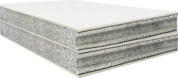 Expanded Polystyrene Concrete Partition Wall Exterior Wall Panels Precast Concrete Concrete Wall