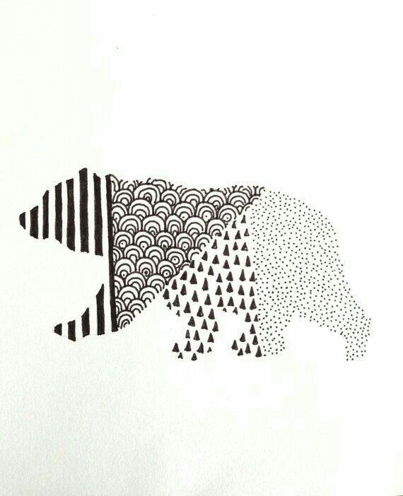 Mejores 27 imágenes de Bears en Pinterest | Tatuajes de osos, Ideas ...