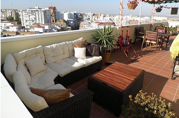 80 best images about roof terrace aticos on pinterest - Atico con terraza ...